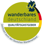 Quality host of the German hiking association - Wanderbares Deutschland